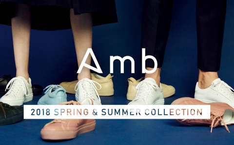 "【Amb】 ""NEW DESIGN"" 2018 SS COLLECTION 先行予約開始"
