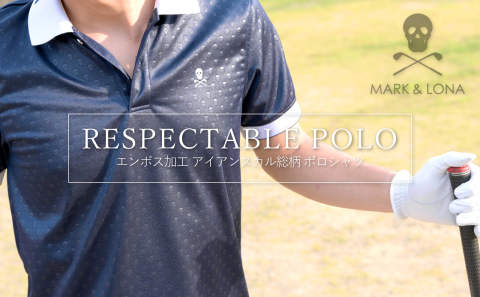 【MARK&LONA】 木村拓哉さん着用アイテム① 「RESPECTABLE POLO」