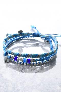 3 Strand Stone Anklets / アンクレット 3ストランド ターコイズ 『InRed5月号にて上戸彩さん着用』