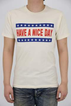 crew neck t-shirts (HAVE A NICE DAY)