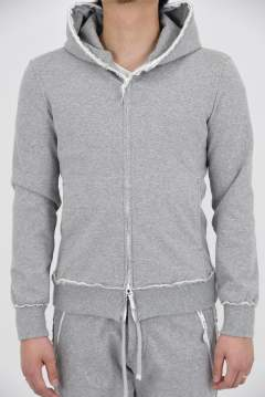 sweat full zip parker