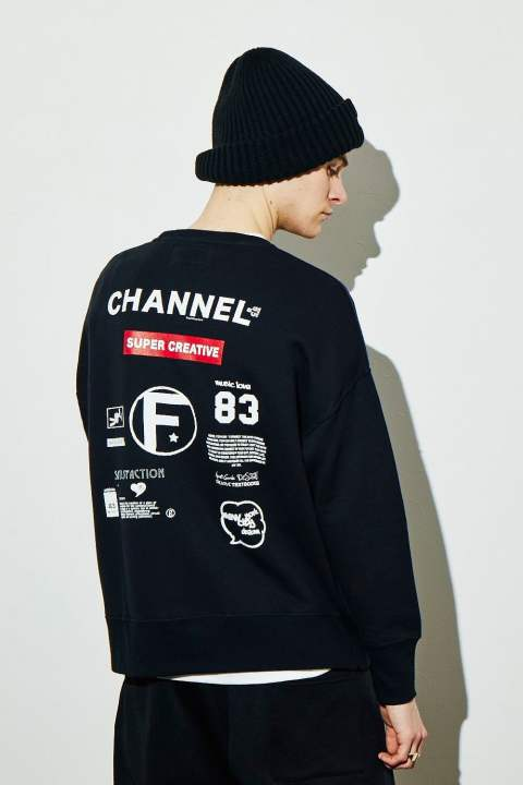 BIG PULLOVER (ONE SIZE) GRAFFITI BACK PRINT(7月入荷予定)