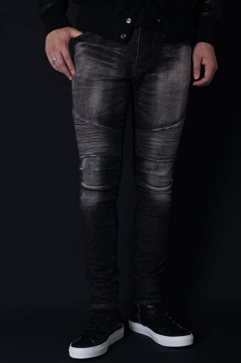《残り一点》 biker denim for gossip