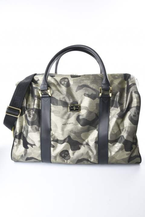 TM Glitter Camo Travel Bag(ゴールド)