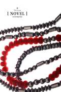 NATURE PLAIN BEADS NECKLACE / ネイチャープレーンビーズネックレス