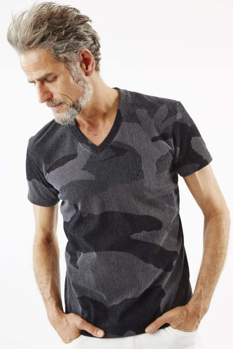 Towel V-neck【BIG CAMO】『LEON7月号P154掲載』