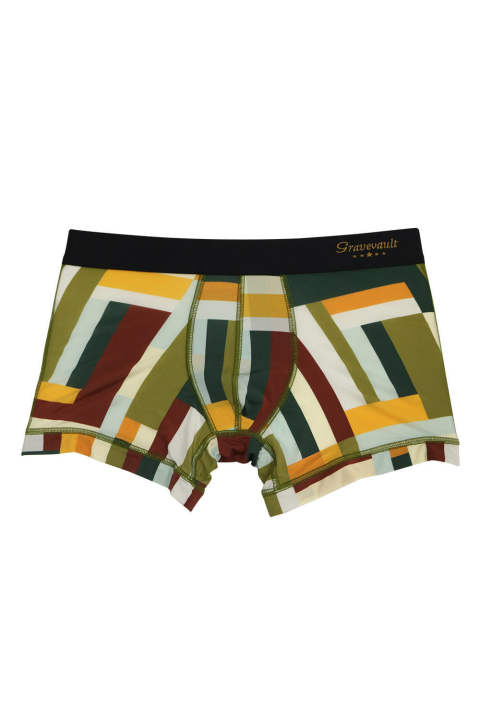 Modern Camou Short Boxer - カーキ