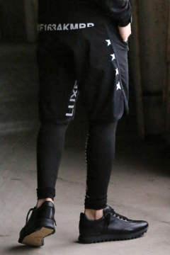 《LUXE 163 AKMBB×gossip / 別注》 RAGSPO TRAINING SHORTS THE STAR