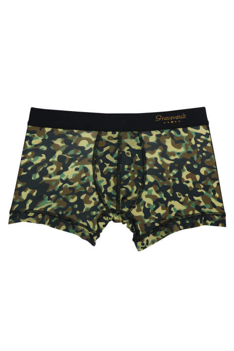 The Camouflage Short Boxer - グリーン