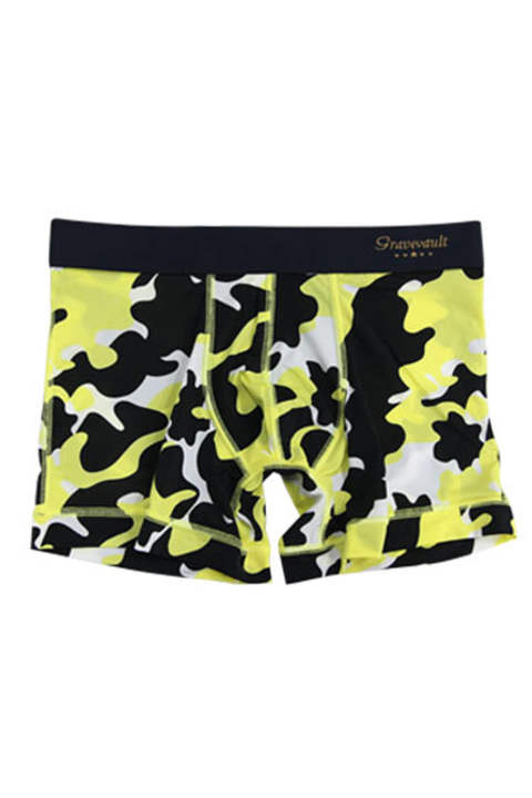 STEALTH CAMO Short Boxer - イエロー