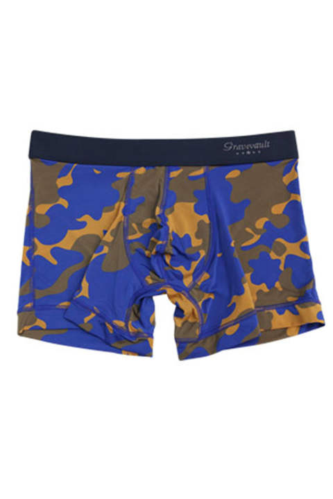 STEALTH CAMO Short Boxer - ネイビー