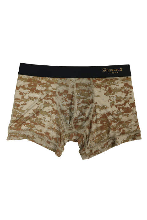 DigitalCamo Short Boxer - サンドブラウン