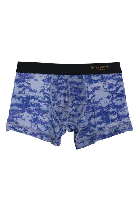 DigitalCamo Short Boxer - シーブルー