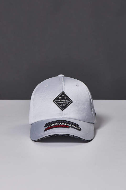 SPORTS LIGHT FAKE LEATHER LUXSPO BB CAP WITH SPORTS PATCH(8月入荷予定)