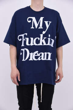 crew neck BIG t-shirts (BIG My Fuckin' Dream)