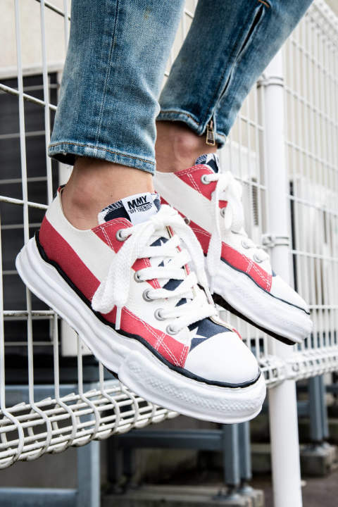 Original sole stars and stripes lowcut sneaker / ダックテイラー キャンバスローカット マルチ